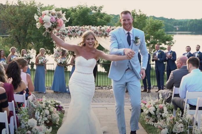 Carson Wentz Wife Madison Oberg